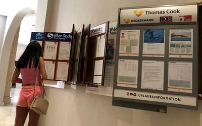 """В Германия, където """"Томас Кук"""" има силни позиции чрез закупения преди години """"Некерман"""", предпочитат да планират и платят почивката си половин година по-рано и то чрез турепоратор."""