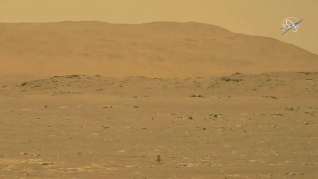 Хеликоптер на НАСА извърши първи полет на Марс