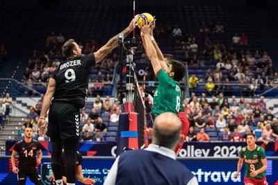 България загуби от Германия с 1:3 на Евроволей 2021