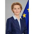 УРСУЛА ФОН ДЕР ЛАЙЕН, председател на  Европейската комисия