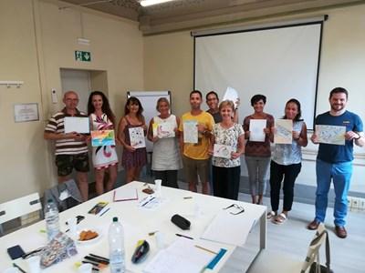 Учителите от Горна Оряховица по време на чуждестранните обучения