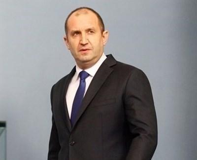 Президентът Румен Радев СНИМКА: Архив