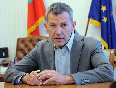Георги Тодоров - служебен министър на транспорта СНИМКА: Румяна Тонева