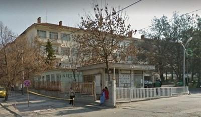 """Болницата """"Св.Пантелеймон"""" в Ямбол. Снимка """"Гугъл стрийт вю"""""""