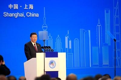 Н. Пр. Си Дзинпин, президент на Китайската народна република.  СНИМКА: РОЙТЕРС