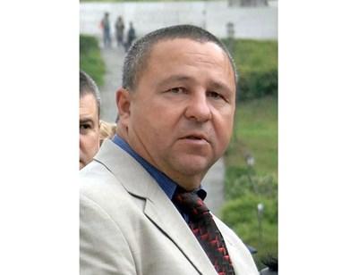 Кметът на Калофер Румен Стоянов.