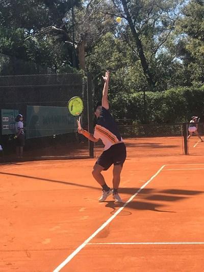 Тенисистът Адриан Андреев Снимки: БОК