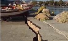 Вижте щетите от силното земетресение в Гърция