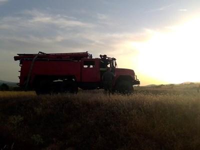 Пожарна Снимка: МО