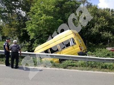 Кадър от мястото на катастрофата СНИМКА: Дима Максимова СНИМКА: 24 часа