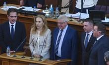 Парламентът прие промените в кабинета