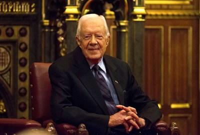 Бившият президент на САЩ Джими Картър СНИМКА: РОЙТЕРС