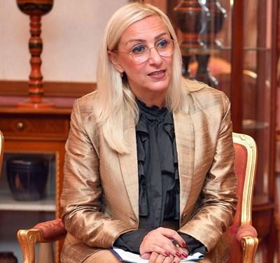 Елеонора Димитрова, посланик на България в Индия
