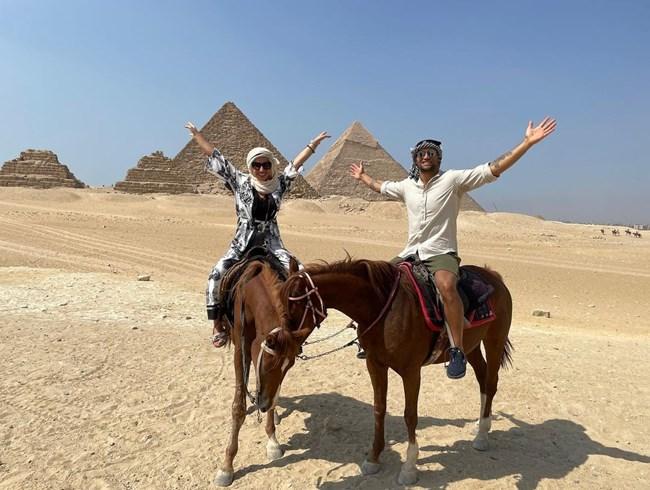 Видяха пирамидите!