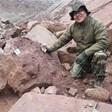 Учени откриха най-голямото струпване на следи от динозаври в Китай