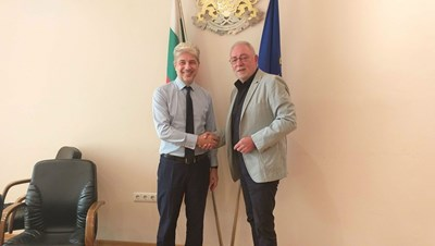 Нено Димов (вляво) и Радосвет Радев