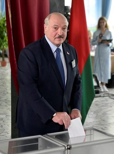 Действащият президент на Беларус - Александър Лукашенко СНИМКИ: Ройтерс