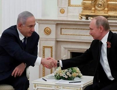 Нетаняху и Путин СНИМКА: Ройтерс