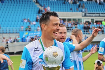 Костадин Велков с купата