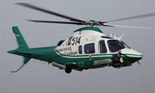 Млади граничари се учели на тайнствения хеликоптер с прибор за нощно виждане