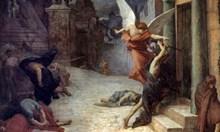 Наполеон вярва, че от чума се разболяват само тези, които се страхуват от нея