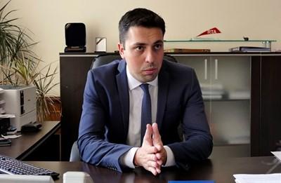 Зам.-кметът по транспорта Евгени Крусев. Снимка Архив