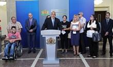Борисов след 5 часа среща: Можем да дадем още 150 млн. лв. за хората с увреждания (Видео, снимки)