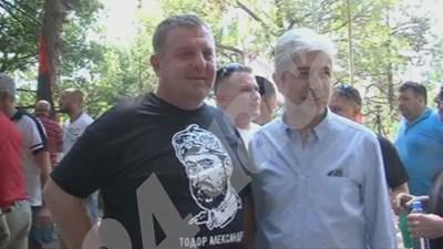 Красимир Каракачанов и Нено Димов СНИМКИ: Авторката СНИМКА: 24 часа
