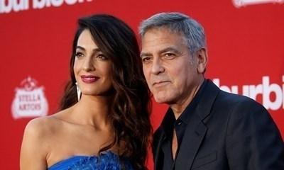 Алам и Джордж Клуни Снимка: Ройтерс