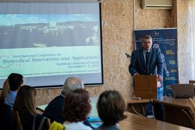 Откриване на конференцията от проф. Венцислав Вълчев
