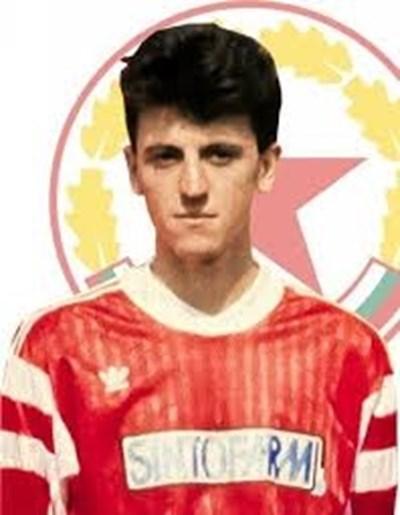 Николай Донев от периода, в който игра за ЦСКА. Снимка fccska.com