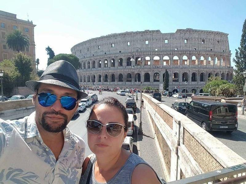 Съпрузите в Рим