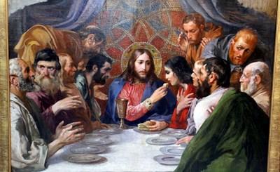 """""""Тайната вечеря"""", рисувана от Иван Мърквичка"""