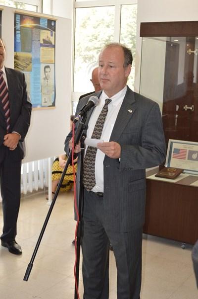 Посланикът на САЩ Ерик Рубин  СНИМКА: АВТОРЪТ