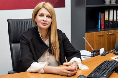 """Илияна Захариева, директор """"Корпоративни комуникации"""" в А1."""