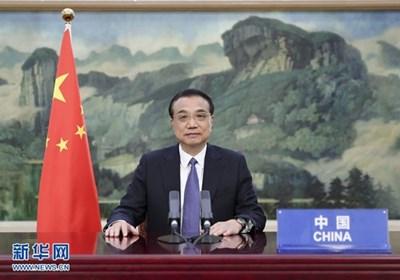 Китайският премиер Ли Къцян СНИМКА: Радио Китай