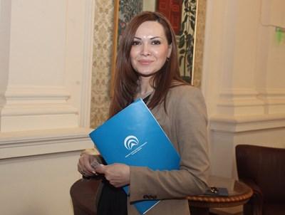 Габриела Козарева, която досега бе начело на агенцията за малки и средни предприятия, става шеф на Агенцията по вписванията.  СНИМКА: РУМЯНА ТОНЕВА