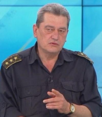 """Николай Николов, директор на Главна дирекция """"Пожарна безопасност и защита на населението"""" Кадър: БНТ"""