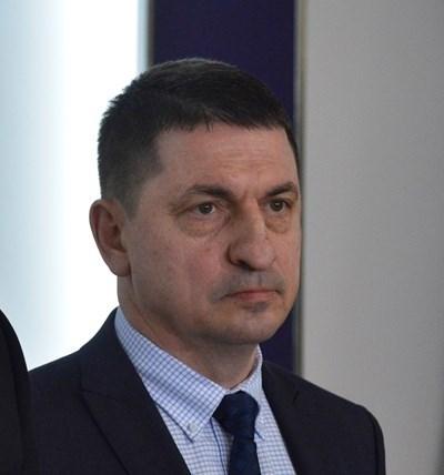 Министърът на вътрешните работи гл. комисар Христо Терзийски, о.р.