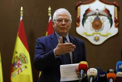 Испанският външен министър Жозеп Борел  СНИМКА: Ройтерс