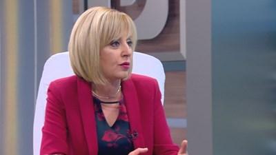 Мая Манолова: Дала съм 20 000 лв. мои пари за кампанията