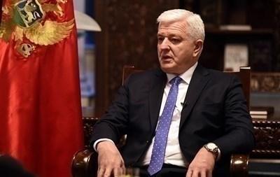 Черногорският премиер Душко Маркович СНИМКА: Ройтерс