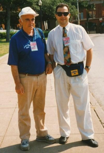 С Мичмана на световното в САЩ 1994  СНИМКА: Личен архив