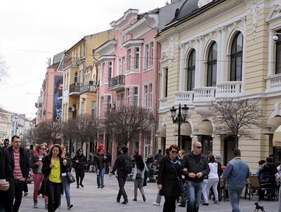 Раждаемостта в Пловдив е сред най-високите в страната.