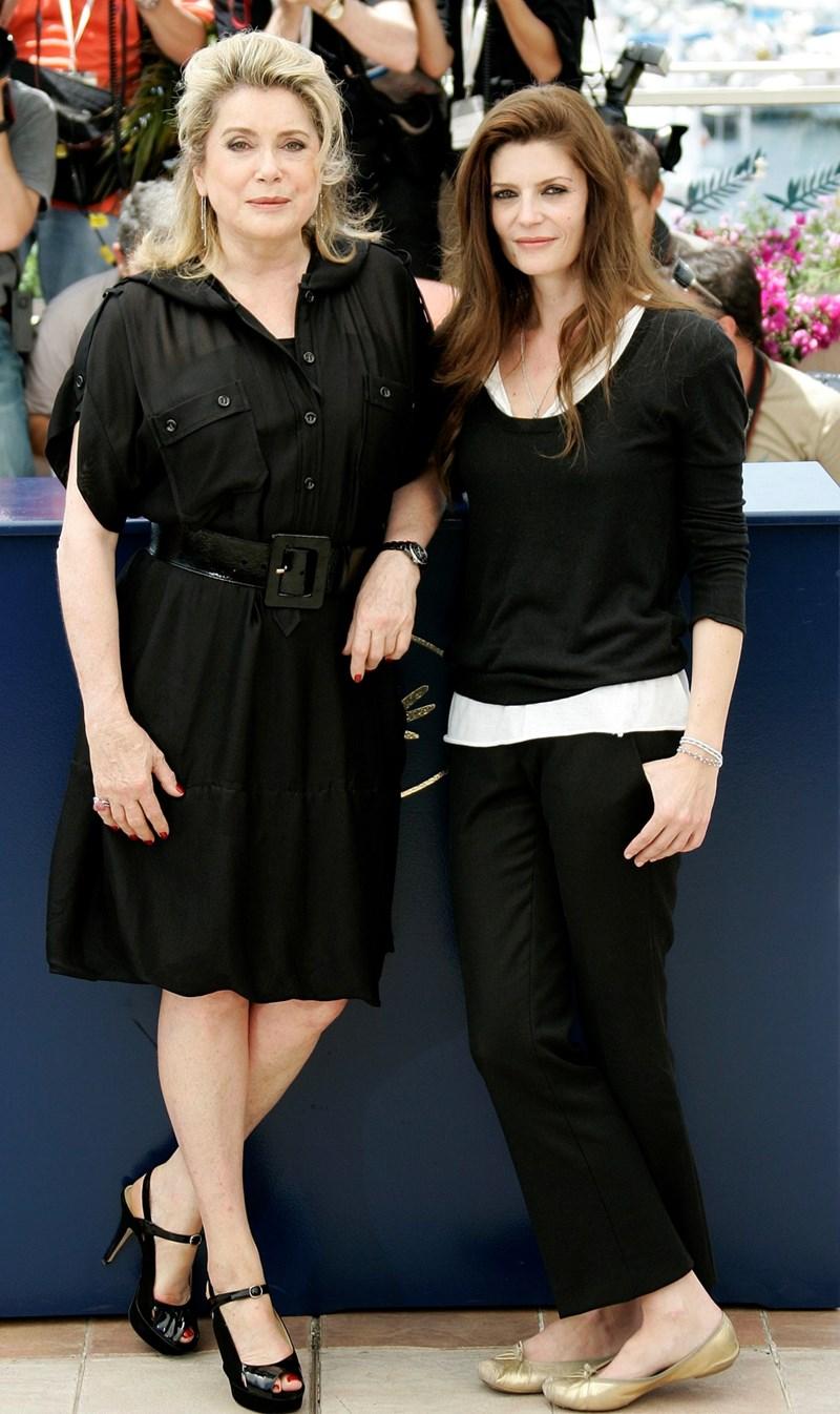 Катрин Деньов с дъщеря си Киара Мастрояни