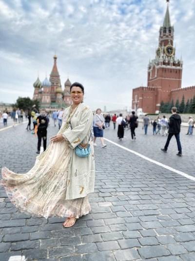 Нетребко при последното си посещение в Москва