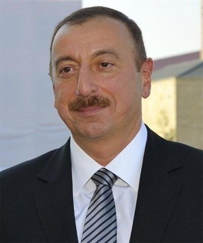Президентът на Азербайджан Илхам Алиев
