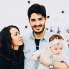 Тодор Скримов със семейството си