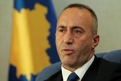 """Председателят на """"Алиансът за бъдеще за Косово"""" и бивш премиер Рамуш Харадинай СНИМКА: Ройтерс"""