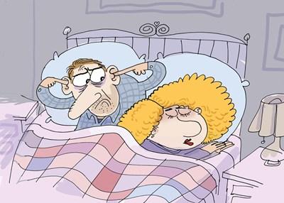 Колкото и да броите овцете в опит да заспите, ако една от тях лежи до вас и хърка, просто няма как да ви се получи. СНИМКА: Ивайло Нинов